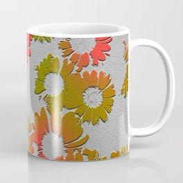 Emboss Floral Coffee Mug