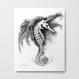 Pegasus of the Sea Metal Print
