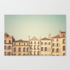 designated town of art & history ... Canvas Print