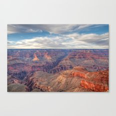 Grand Canyon Evening Display Canvas Print