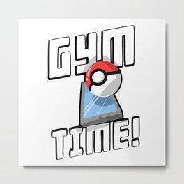 Gym Time Metal Print