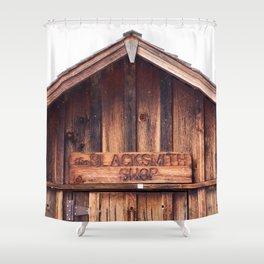 Blacksmith Shop Shower Curtain