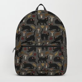 autumn cat magic Backpack