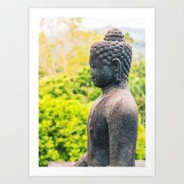 Borobudur Buddha Art Print