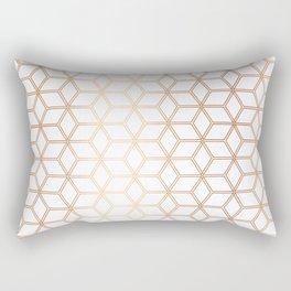 Hive Mind - Rose Gold #113 Rectangular Pillow