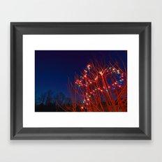twinkle, twinkle Framed Art Print