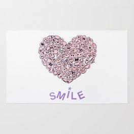Heart of SMILES - GIRLS Rug