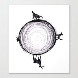 Marauders Moon II Canvas Print
