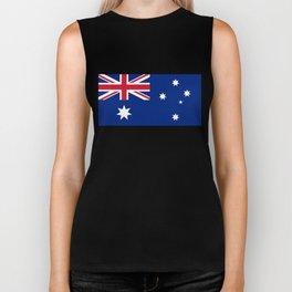 Australian flag, HQ image Biker Tank