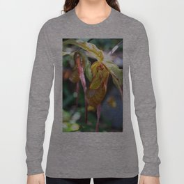 Lady Slipper Orchid II Long Sleeve T-shirt