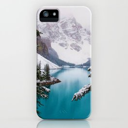 Paradise in the Mountains (Color) iPhone Case