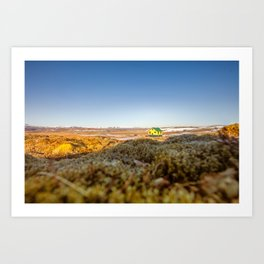 Iceland middle of nowhere Art Print