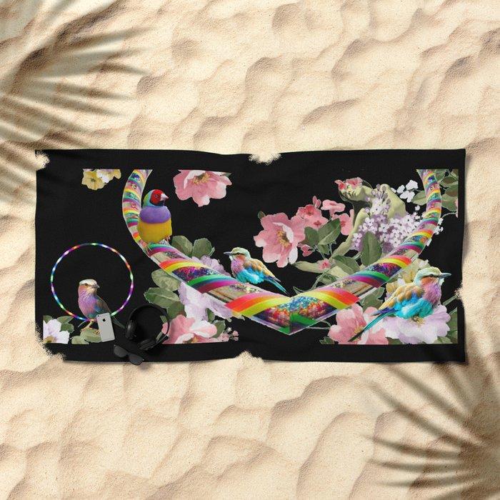 Hoop Love Beach Towel