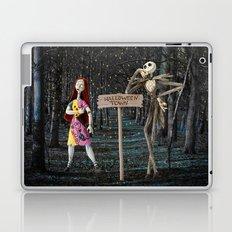 Halloween Town   Jack   Sally   Christmas   Nightmare Laptop & iPad Skin