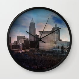 The CLE. Wall Clock