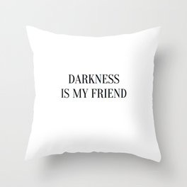 phrases Throw Pillow