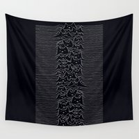 joy division Wall Tapestries featuring Joy Division by Tobe Fonseca