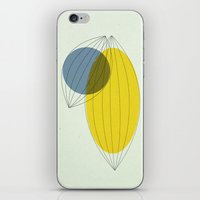 fig iPhone & iPod Skins featuring Fig. 1a by Jasmine Sierra