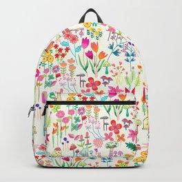 The Odd Floral Garden I Backpack