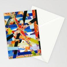 January (stripes 6) Stationery Cards