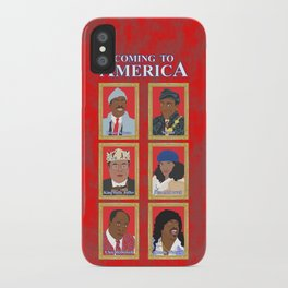 Coming to America iPhone Case