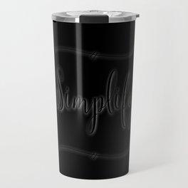 Simplify Rewind Travel Mug