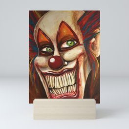 Gingles the clown Mini Art Print