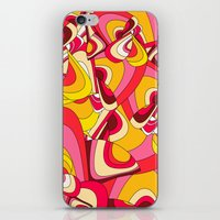 psychadelic iPhone & iPod Skins featuring o emilio by Norma Lindsay