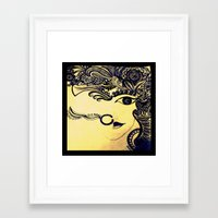 india Framed Art Prints featuring India by Akinawa