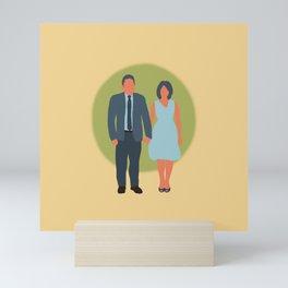 Save the Date - The Couple - Love Mini Art Print