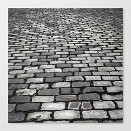 Cobbled Canvas Print