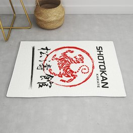 Shotokan Karate Tiger Rug