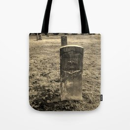 The Forgotten Graves Tote Bag