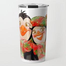 Penguins Family Travel Mug
