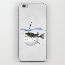 Take It Outside! (Wordless) iPhone Skin