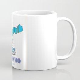 Pressmennan Wood Scotland map Coffee Mug