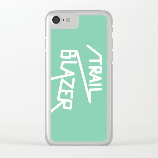 Trailblazer Clear iPhone Case
