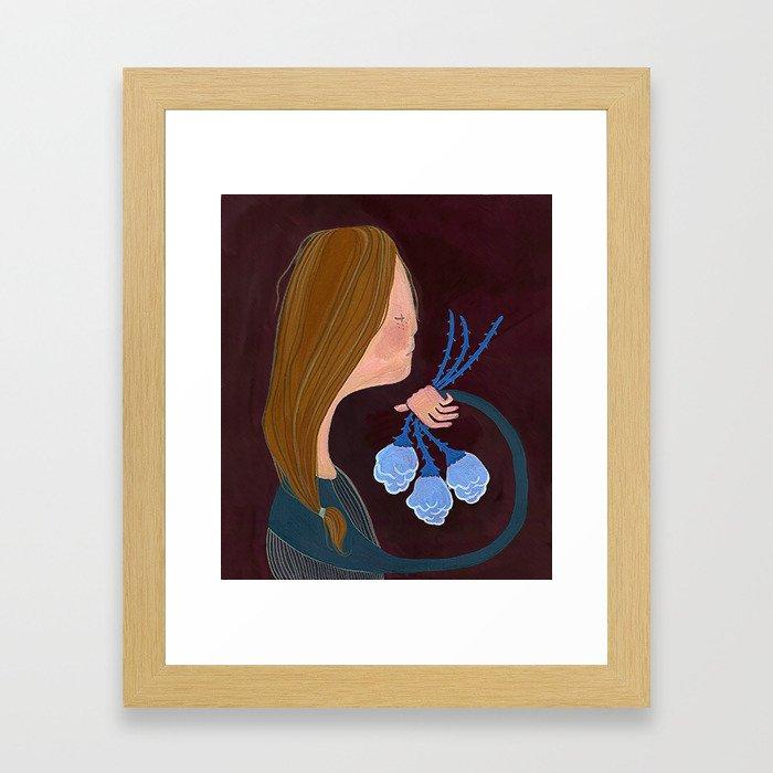Sarah's Not A (major animated feature studio) Princess Framed Art Print