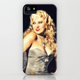 Mae West, Vintage Actress iPhone Case