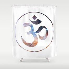 Om stars symbol Shower Curtain