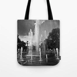 Worlds Fair Park Fountains 4 Tote Bag