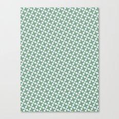 Mint Leaf Pattern Canvas Print