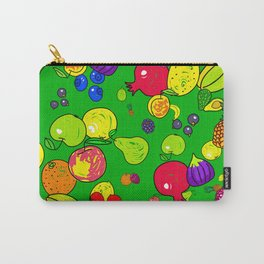 Mixed Fruit Doodles Carry-All Pouch