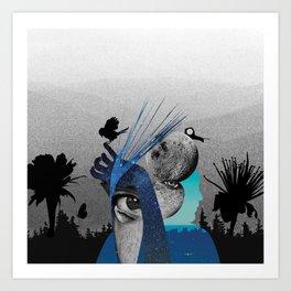 Animated Stardust Art Print