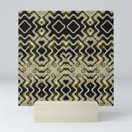 Tribal Gold Glam Mini Art Print