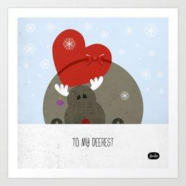 My deerest Art Print
