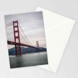 The great Golden Gate bridge Stationery Cards