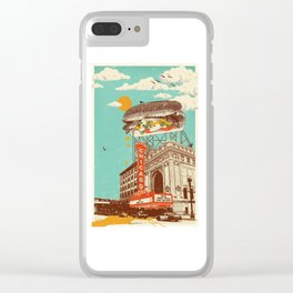 CHICAGO RED HOT Clear iPhone Case