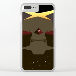 When Gravity Falls Clear iPhone Case