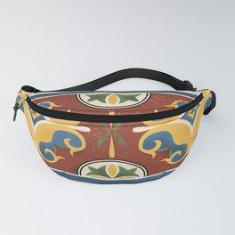 traditional Kazakh ornament Fanny Pack